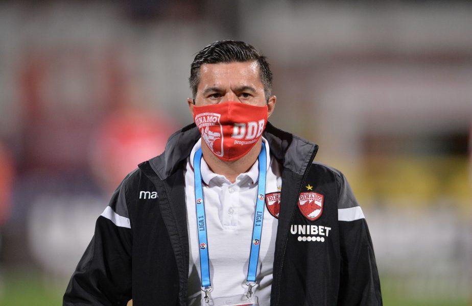 Surpriză uriașă! Cosmin Contra conduce antrenamentul lui Dinamo! Borja Valle și Isma Lopez au plecat de la Săftica