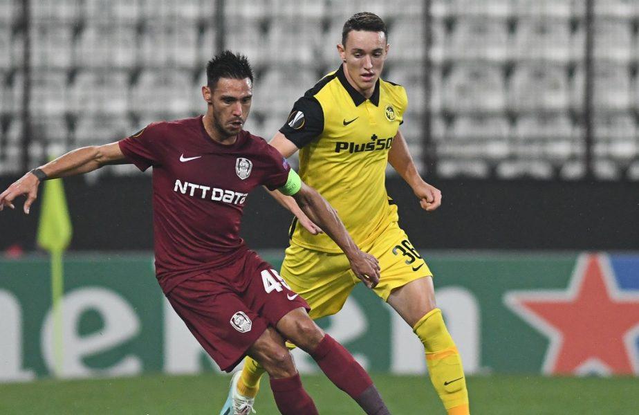 CFR Cluj – CSKA Sofia 0-0. Campioana joacă în Elveţia cu calificarea pe masă. Clujenii, condamnaţi să câştige cu Young Boys Berna