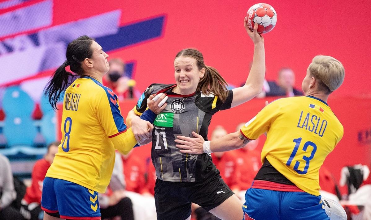 România – Germania 19-22. Tricolorelor au debutat cu un eşec la Campionatul European 2020. Dumanska, meci uluitor în poartă! Neagu, de nerecunoscut