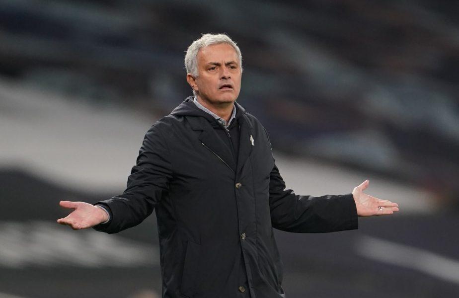 Jose Mourinho, pedeapsă virală pentru jucătorii lui Tottenham după egalul din Europa League! Ce a putut să facă portughezul