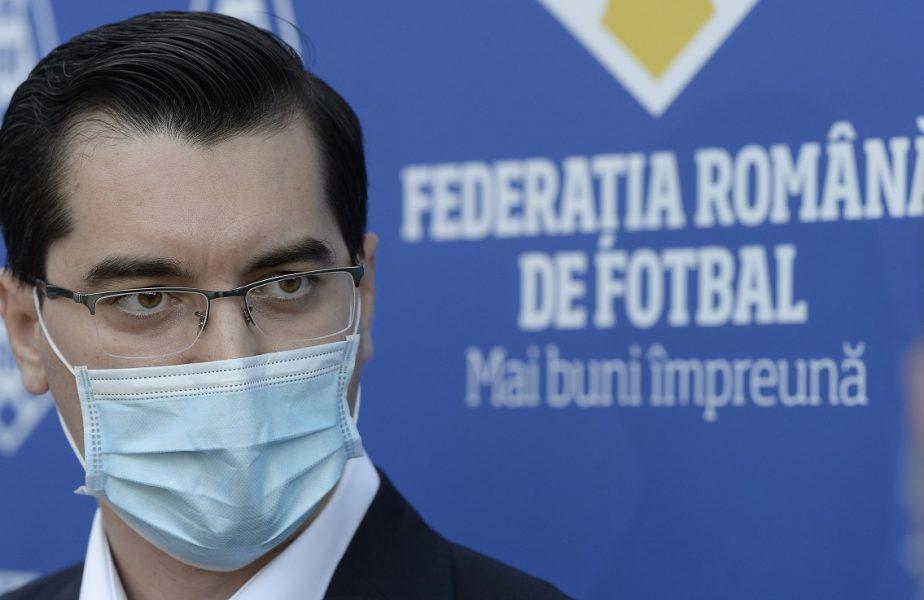 """FRF a câştigat """"războiul"""" cu Ministerul Tineretului şi Sportului. Răzvan Burleanu a triumfat după trei ani de procese"""