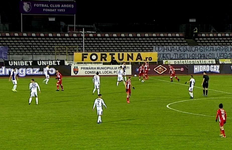 Dinamo face show în plin scandal! Al doilea gol marcat de la centrul terenului în acest campionat! Camara l-a copiat pe Borja Valle
