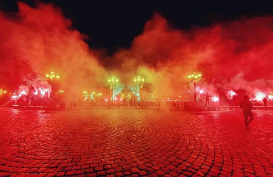 Jandarmii le-au stricat fanilor sărbătoarea. Torțe și amenzi în ziua în care clubul Poli Timișoara a împlinit 99 de ani