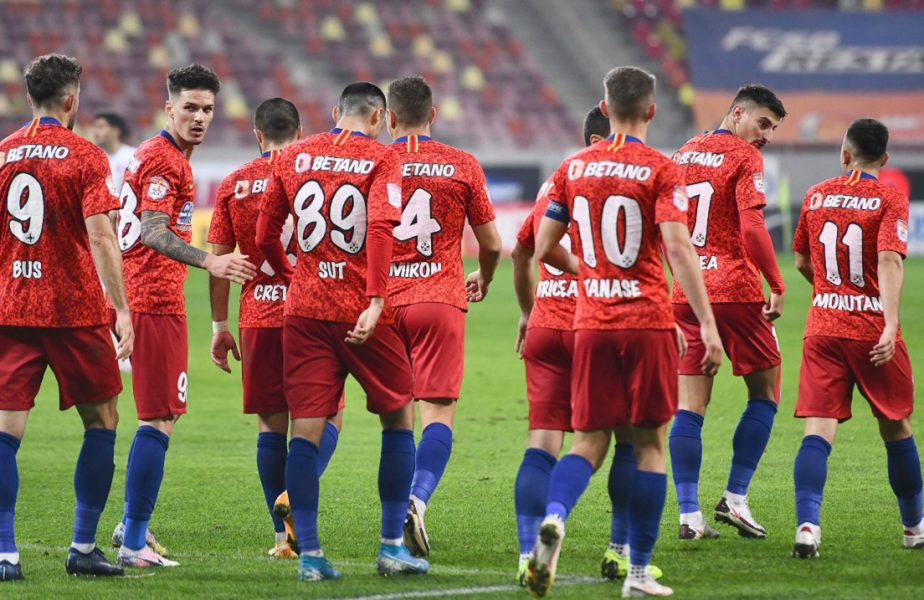 FCSB – UTA Arad 3-0. Echipa lui Toni Petrea, a zecea victorie a sezonului! Florinel Coman, gol la revenirea pe gazon