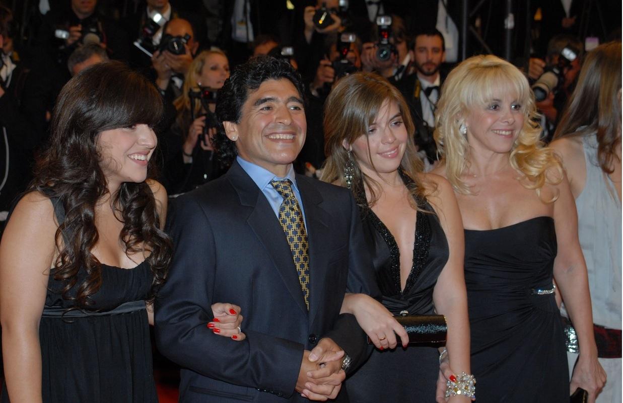 """Diego Maradona la premiera de la Cannes a filmului """"Maradona"""", în 2008"""