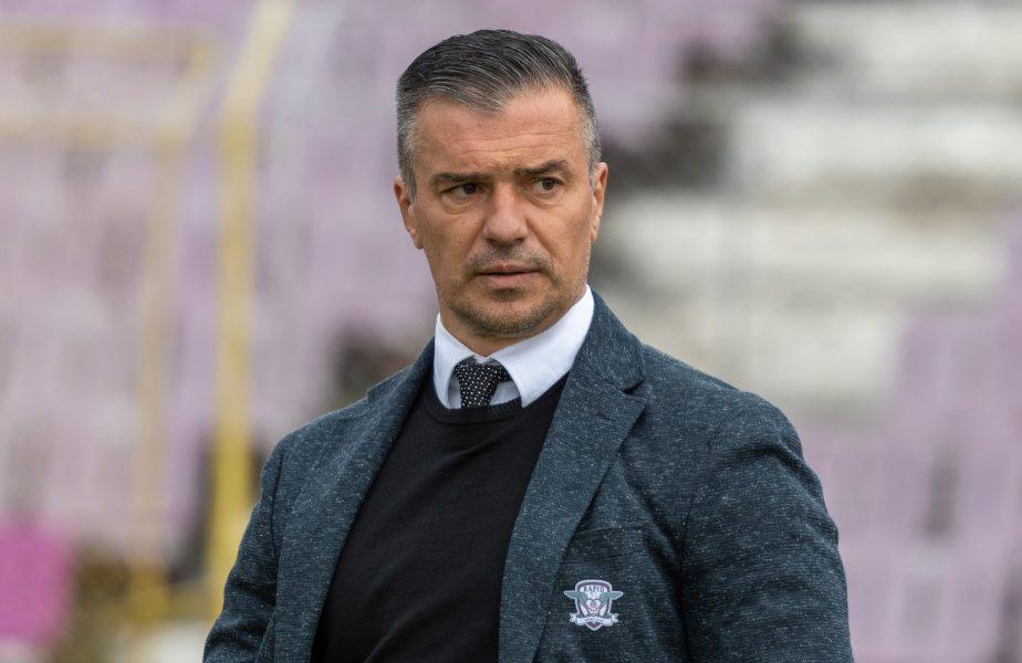 """Daniel Pancu, discurs dur după înfrângerea cu CFR: """"Poate sunt eu nebun, poate jucătorii mă înjură! Nu batem nici o echipă de Liga 3"""""""