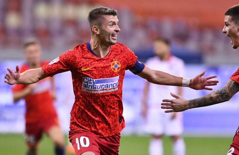 Ce lovitură! Florin Tănase poate ajunge în Ligue 1! Ce echipă îl urmărește pe căpitanul de la FCSB