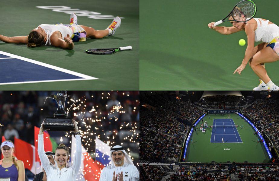 Simona Halep, încă o performanţă de pus în ramă. Finala de la Dubai cu Rybakina, declarată meciul anului de WTA