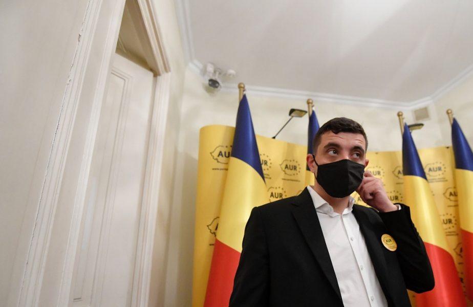 """George Simion, liderul AUR, mesaj de susținere pentru Sebastian Colțescu. """"E victima unei campanii agresive de denigrare"""""""
