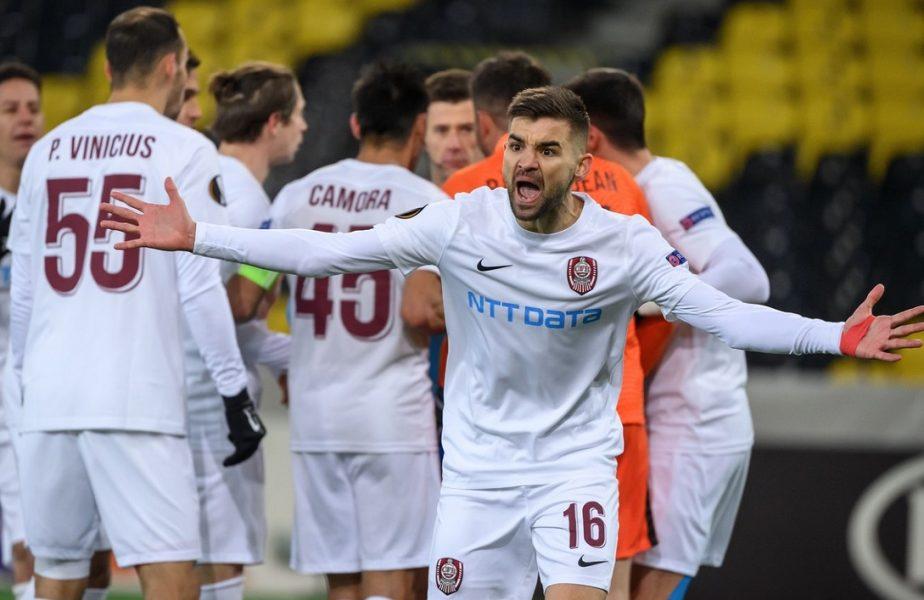 """Anghel Iordănescu pune tunurile pe arbitrul care i-a nedreptăţit fiul în Europa League: """"Nu am mai văzut un asemenea penalty! Ce a vrut să facă?!"""""""
