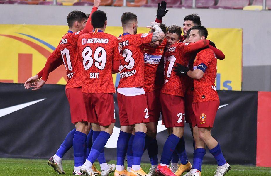 FCSB, cea mai bine clasată echipă din Liga 1 în clasamentul coeficienților! Pe ce loc se află România