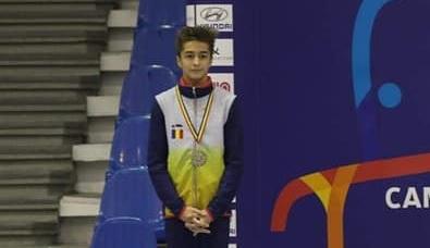 Nicholas Târcă, gimnastul de 13 ani care lasă Statele Unite pentru România! A câştigat deja cinci medalii