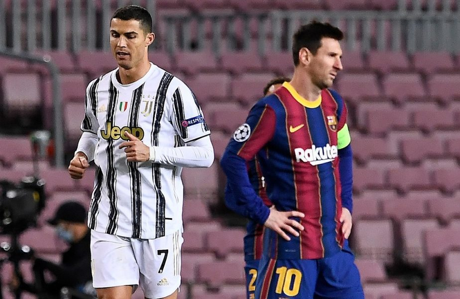 Cristiano Ronaldo şi Lionel Messi