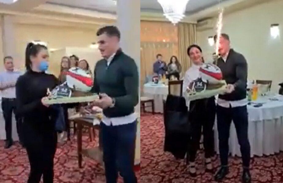 Un cunoscut bărbat din România a dat petrecere de ziua sa într-un restaurant, deși acest lucru este interzis de lege. Invitații nu purtau măști