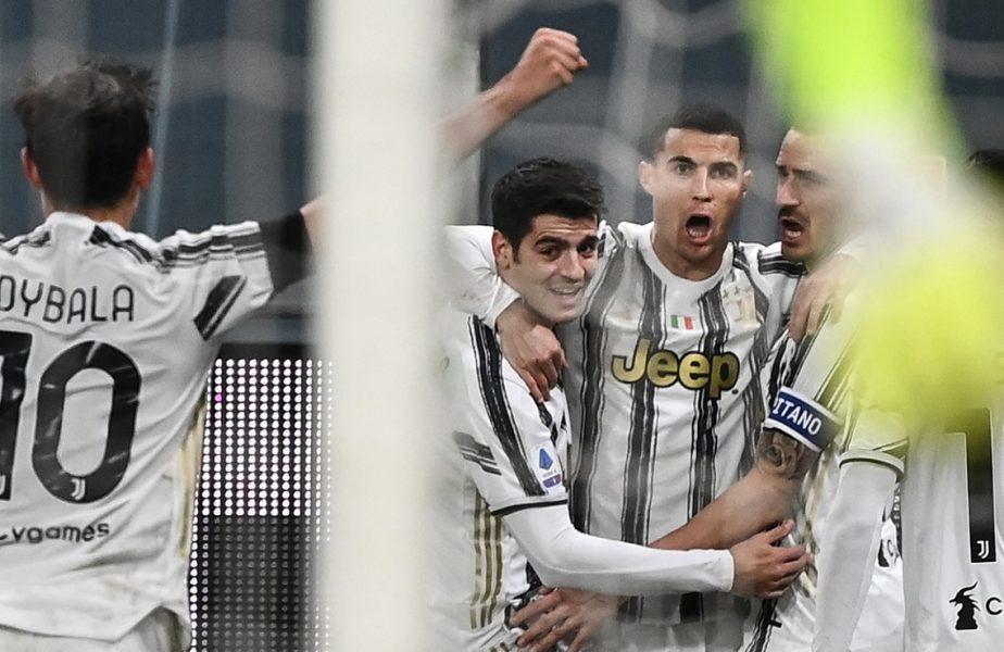 """Cristiano Ronaldo, """"dublă"""" pentru Juventus. Ce record a atins înaintea lui Messi. Radu Drăguşin, primele minute în Serie A"""