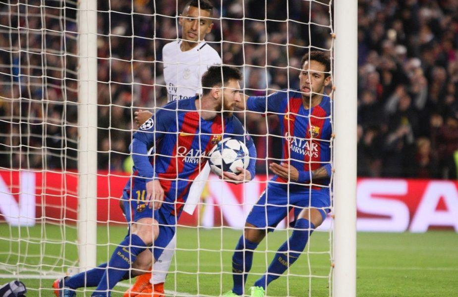 """PSG revine """"la locul crimei"""". Campionii Franţei încă nu au uitat dezastrul cu Barcelona. Messi şi Neymar pot fi adversari!"""