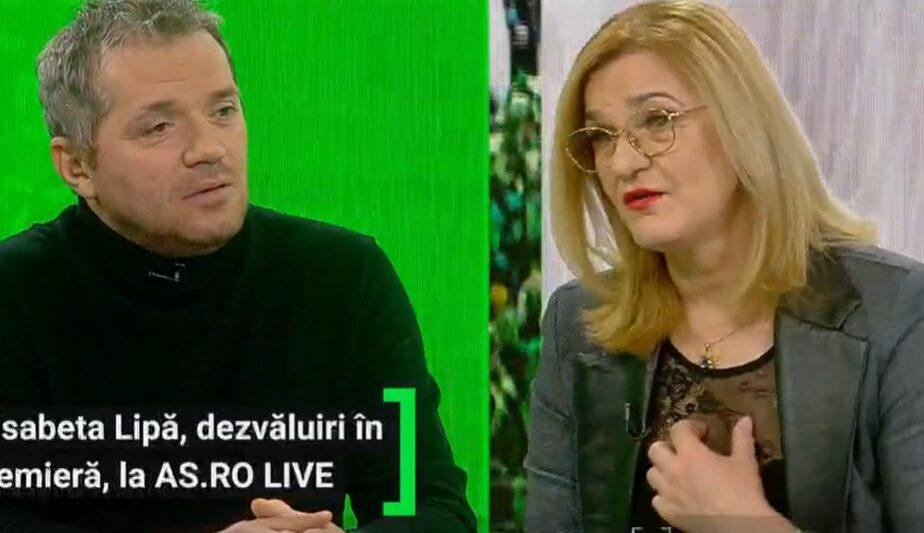 AS.ro LIVE   Elisabeta Lipă a fost invitata lui Cătălin Oprişan, ACUM, pe www.as.ro/live