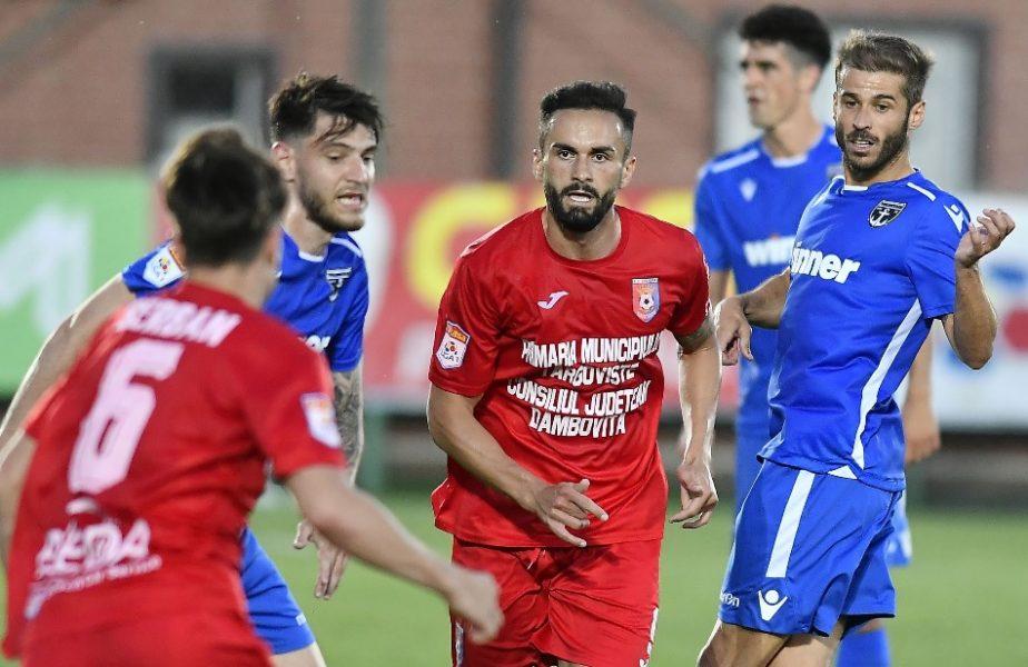 FC Voluntari – Chindia Târgoviște 0-2. Daniel Popa și Florea o duc pe Chindia pe loc de play-off