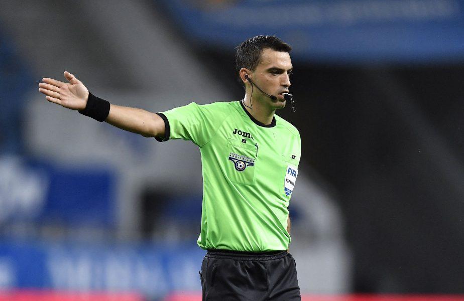 Ovidiu Haţegan va arbitra derby-ul Craiova – FCSB! Prima apariţie a arbitrului după scandalul monstru de la Paris