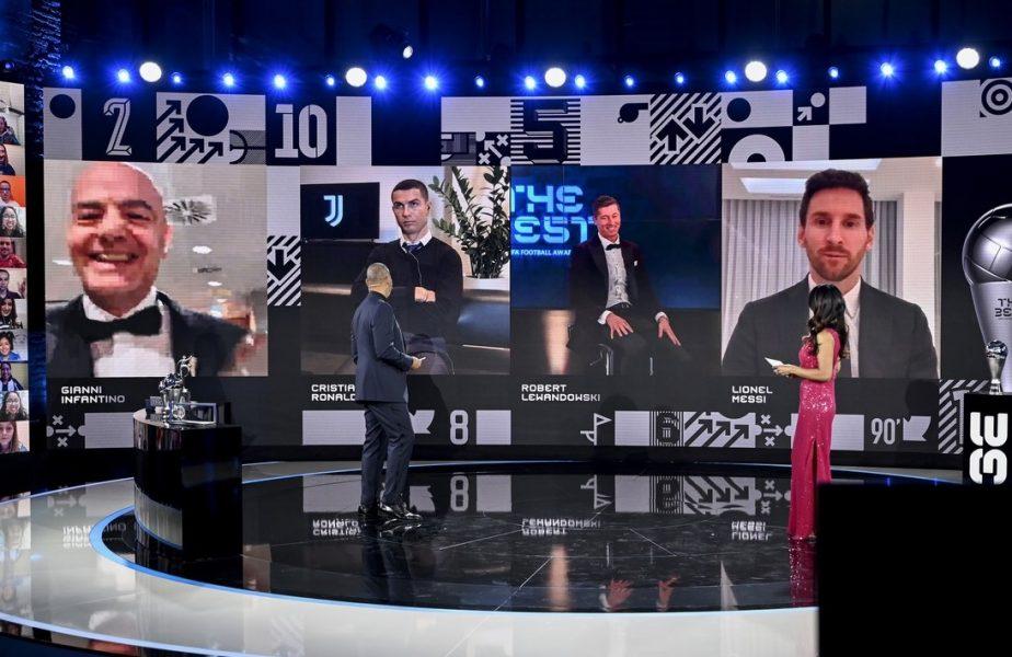 Lionel Messi nu l-a inclus pe Ronaldo în topul celor mai buni jucători din 2020! Reacția virală a portughezului la victoria lui Lewandowski