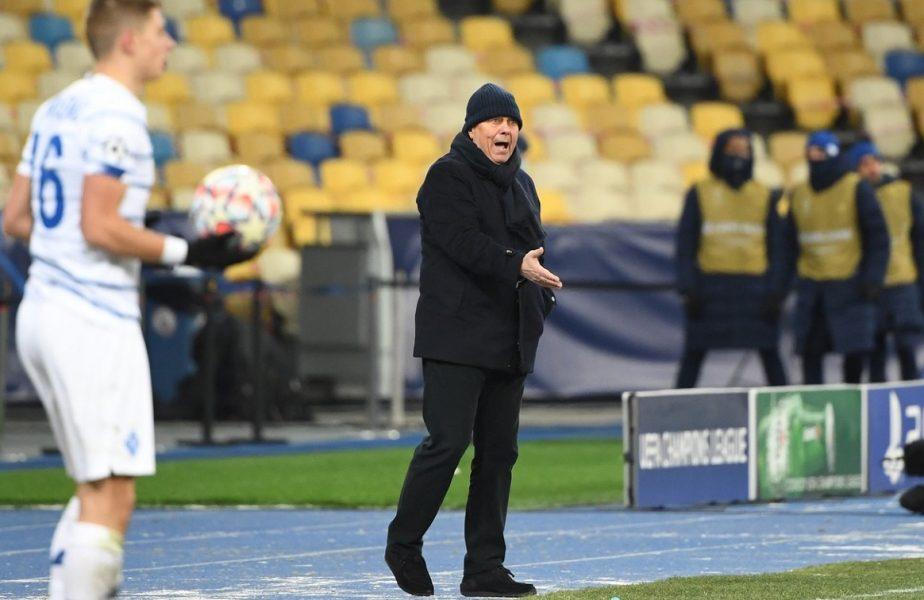 Mircea Lucescu a stârnit un scandal în Ucraina. Arbitrii, arătaţi cu degetul pentru că nu au trecut incidentele în raportul de joc!