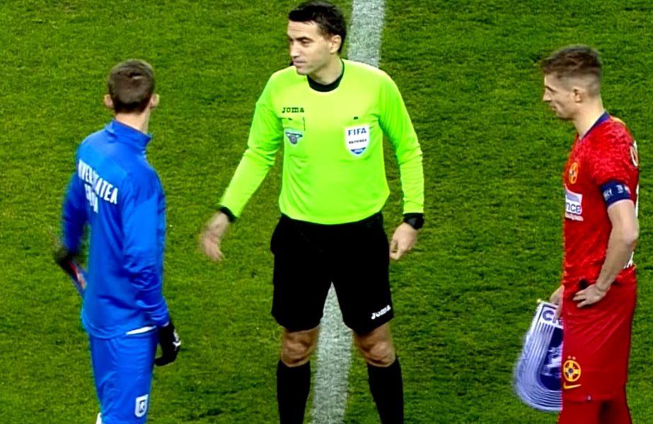 Ovidiu Haţegan, prima apariţie pe un teren de fotbal după scandalul de la Paris. Cum a fost surprins înainte de Craiova – FCSB
