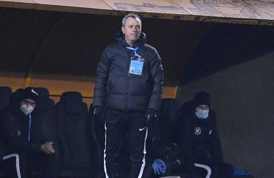 """Mircea Rednic nu mai are răbdare cu jucătorii Viitorului. """"Din trei portari poate fac unul bun!"""". Anunţă schimbări masive la echipă"""