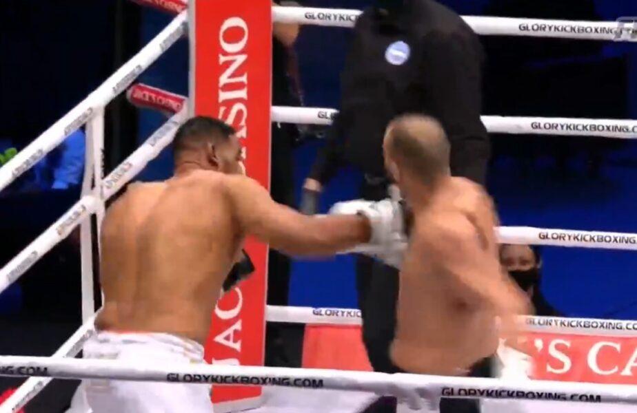 WOOOW!!! Benny îl face KO pe Badr Hari!!! Marocanul termină meciul cu nasul rupt!!! Vezi toate fazele aici