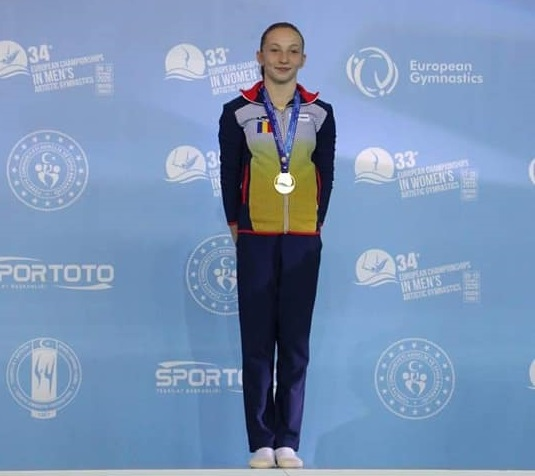Ana Bărbosu, noua stea a gimnasticii româneşti. Performanţă fabuloasă la Campionatul European: a câştigat toate cele 6 medalii de aur