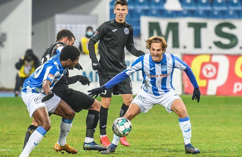 Hermannstad – Poli Iaşi 0-1. Daniel Pancu, prima victorie din septembrie. Fotbalistul cu care s-a aflat în conflict, Andrei Cristea, a marcat singurul gol