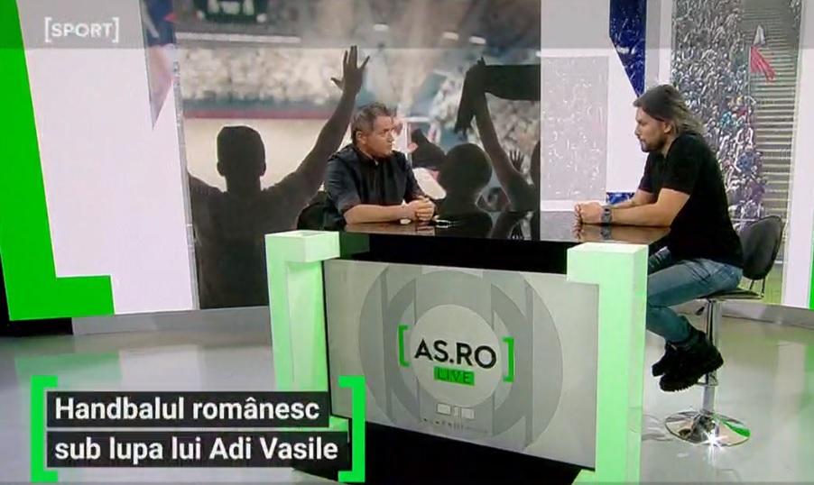 AS.ro LIVE | Adi Vasile a fost invitatul lui Cătălin Oprişan.Antrenorul lui CSM Bucureşti a vorbit despre şansa de a prelua echipa naţională