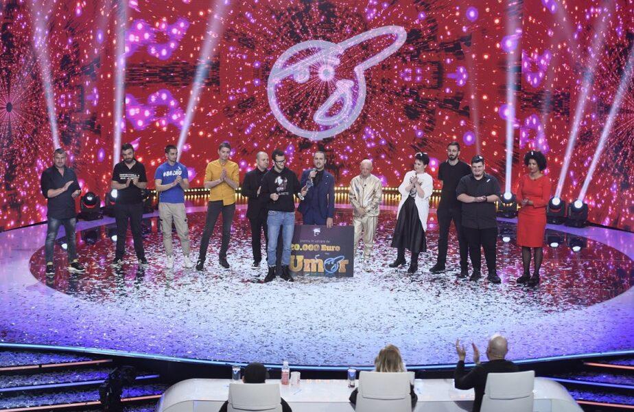 Andrei Ungureanu, Omul cu Tourette, este câștigătorul iUmor, sezonul 9