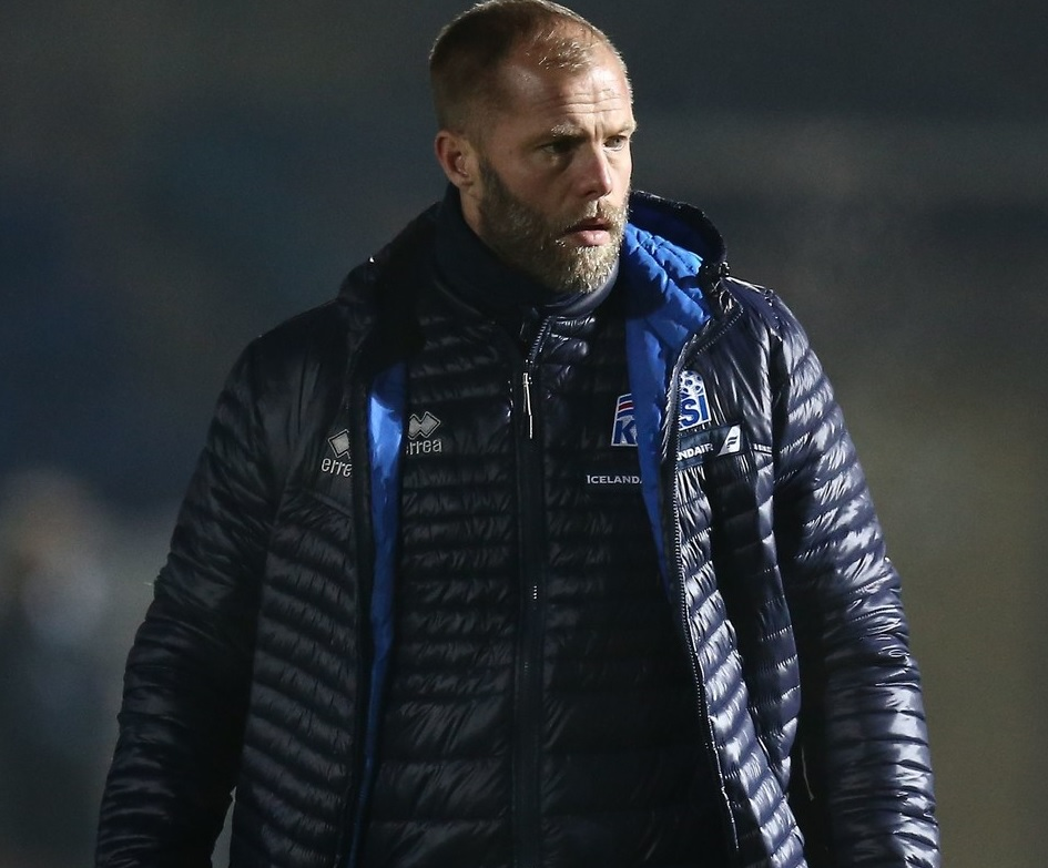 Eidur Gudjohnsen, antrenorul secund al naționalei Islandei