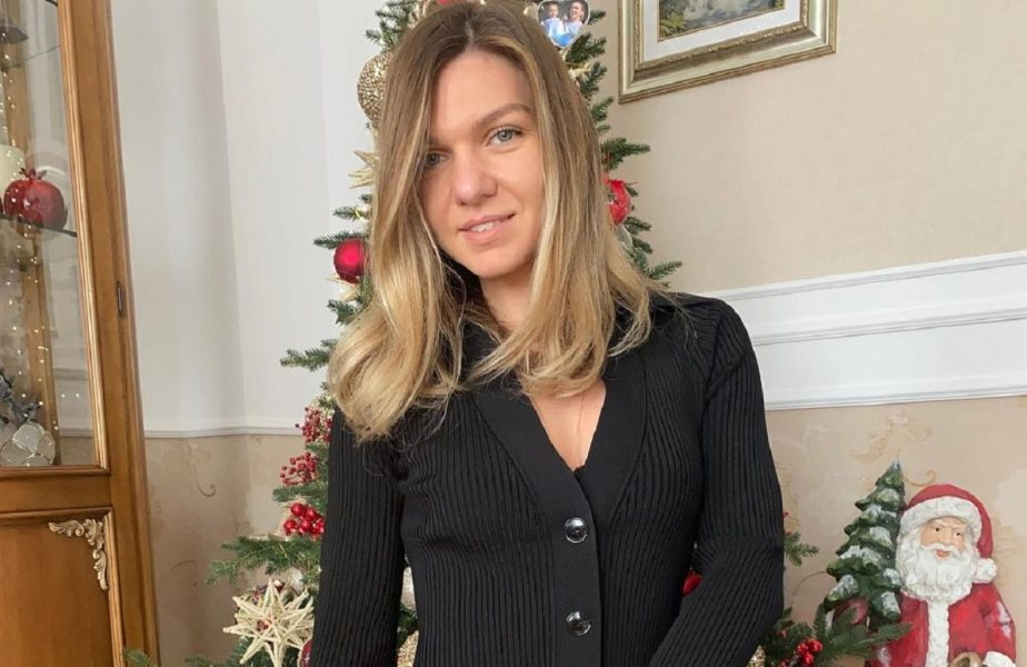 """""""Atmosferă de Crăciun!"""" Simona Halep i-a """"primit"""" pe fani acasă! Cum a sărbătorit a doua jucătoare a lumii"""