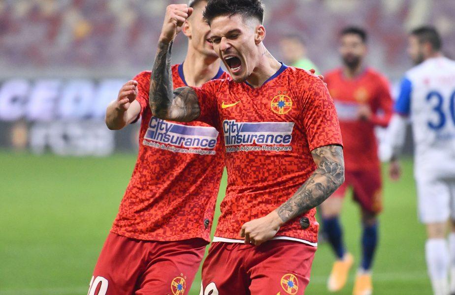 FCSB defilează în Liga 1! Man și compania au înscris cât CFR și Craiova la un loc. Coincidența surprinzătoare de la finalul turului