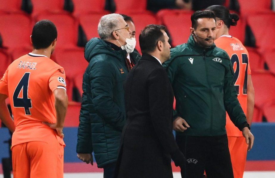 """S-a întors roata în """"Scandalul Colţescu""""! I-a numit """"ţigani"""" pe români şi a fost aspru sancţionat. Ce a păţit antrenorul lui Başakşehir"""