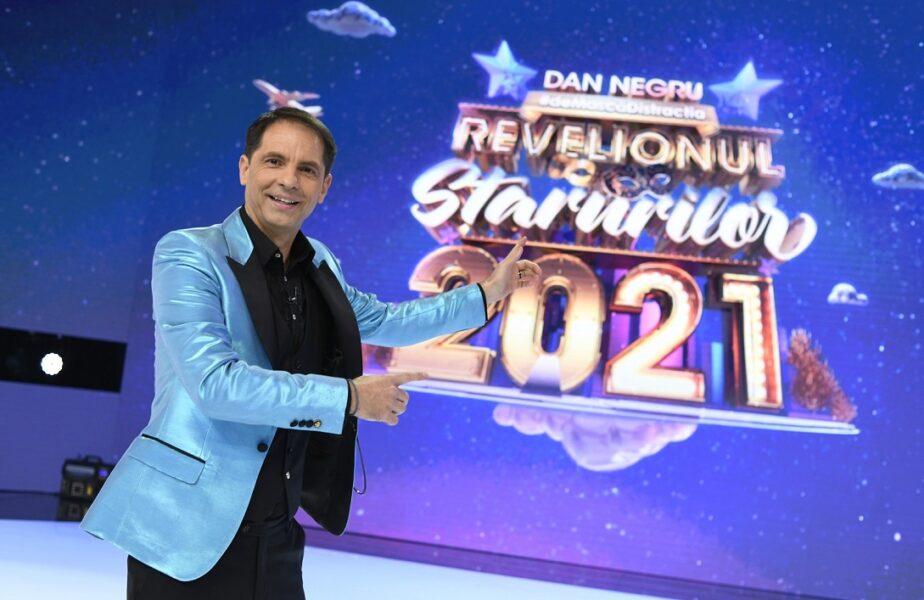 """Dan Negru #deMascăDistracția la Revelionul Starurilor 2021. """"Eu v-am băgat anul trecut în anul ăsta, eu vă scot din el!"""""""