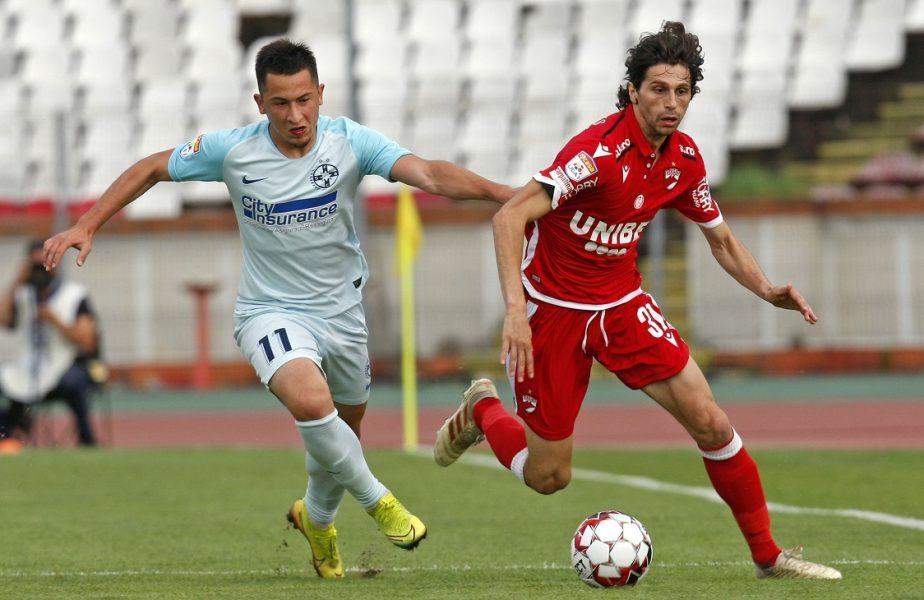 O nouă lovitură pentru Dinamo. Diego Fabbrini își depune memoriu! Italianul poate avea drum liber spre CFR Cluj