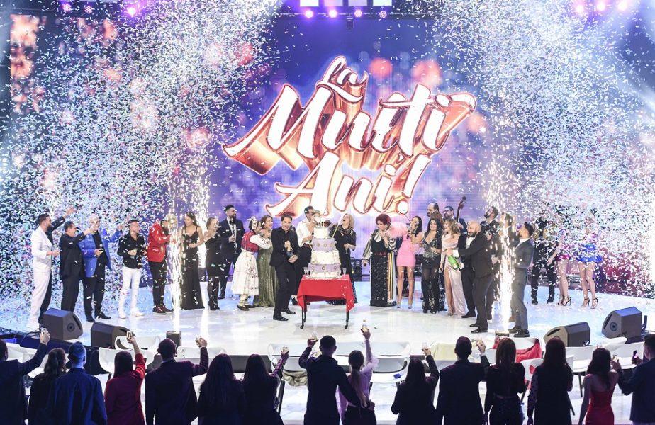 Dan Negru, de 21 de ani liderul spectacolelor de Revelion! Aproape 3.6 milioane de români au urmărit Revelionul Starurilor 2021, la Antena 1