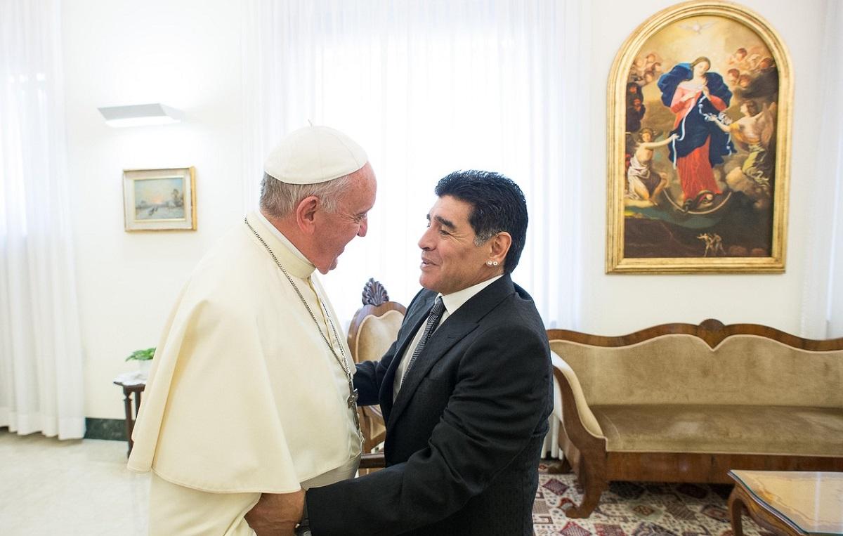 Papa Francisc şi Maradona