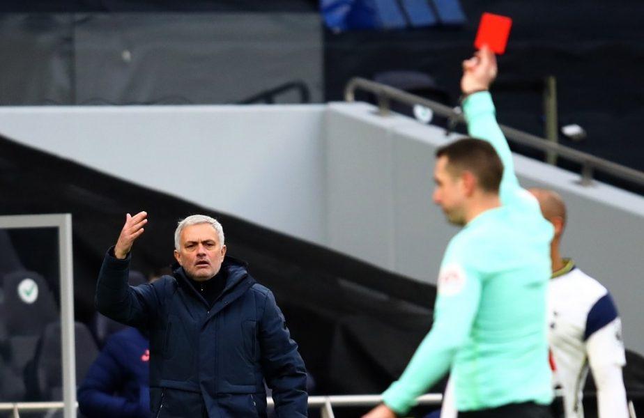 """""""Să-l ajute Dumnezeu!"""" Jose Mourinho și-a """"nimicit"""" un jucător după eliminarea din prelungiri. Reacțiile ironice ale fanilor"""