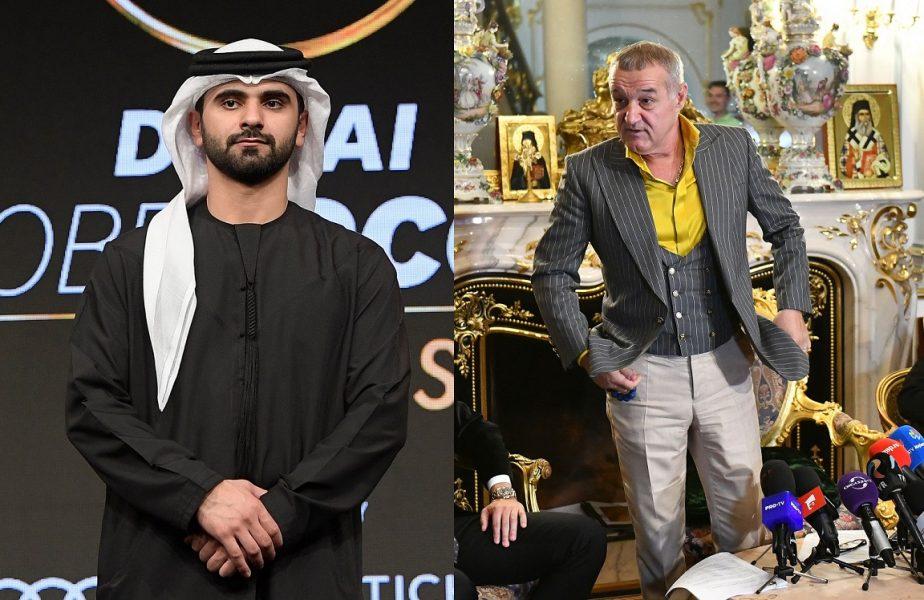 Gigi Becali negociază cu cel mai bogat patron de club din lume! Averea fabuloasă pe care o are şeicul care îl vrea pe Olimpiu Moruţan
