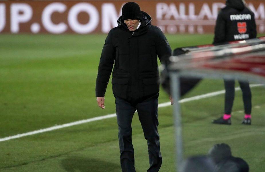"""Real Madrid – Celta Vigo 2-0. """"Galacticii"""" sunt primii în La Liga, dar au avut cifre dezastruoase. Nu i s-a mai întâmplat aşa ceva lui Zidane"""