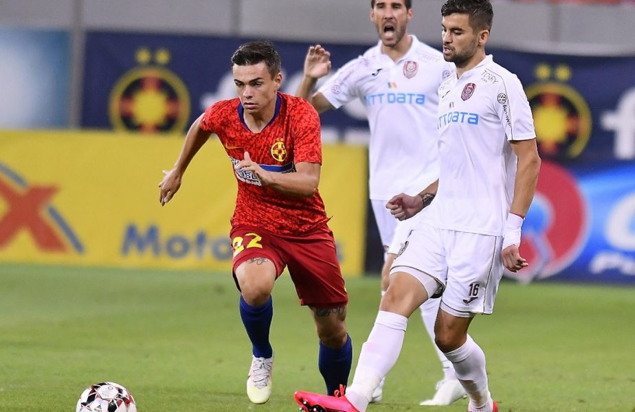 """""""Kun Aguero de România"""" pleacă de la FCSB. La ce echipă din Liga 1 va evolua Cristian Dumitru"""
