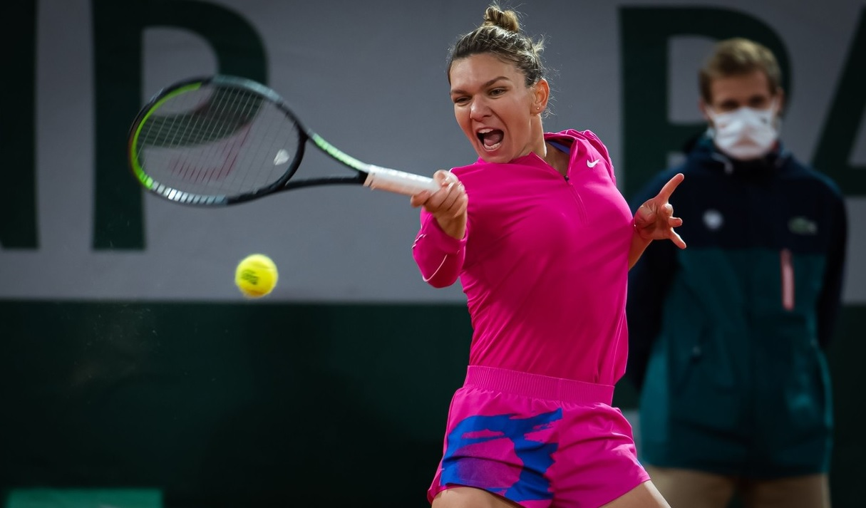 Simona Halep la Roland Garros 2020