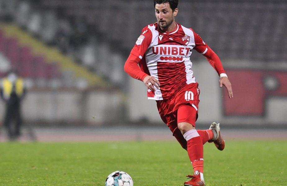 Borja Valle în timpul unui meci pentru Dinamo