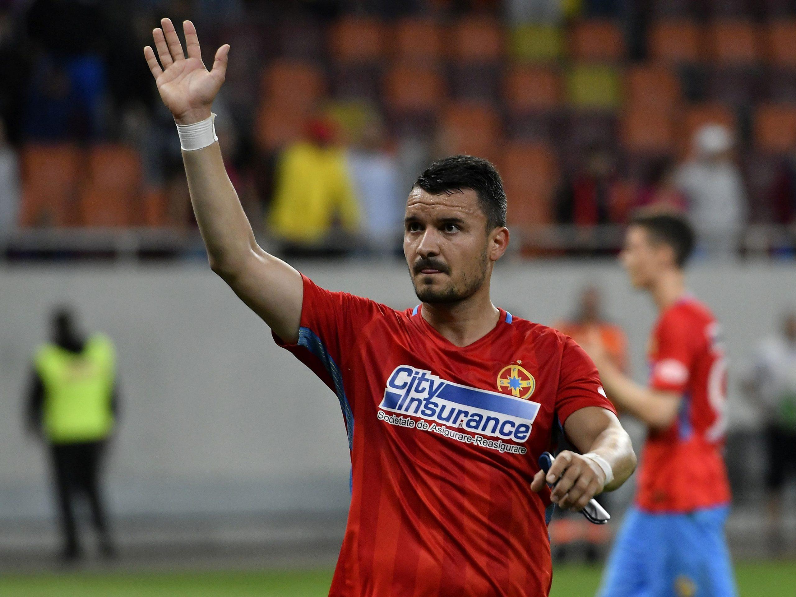 Constantin Budescu, din nou titular la FCSB