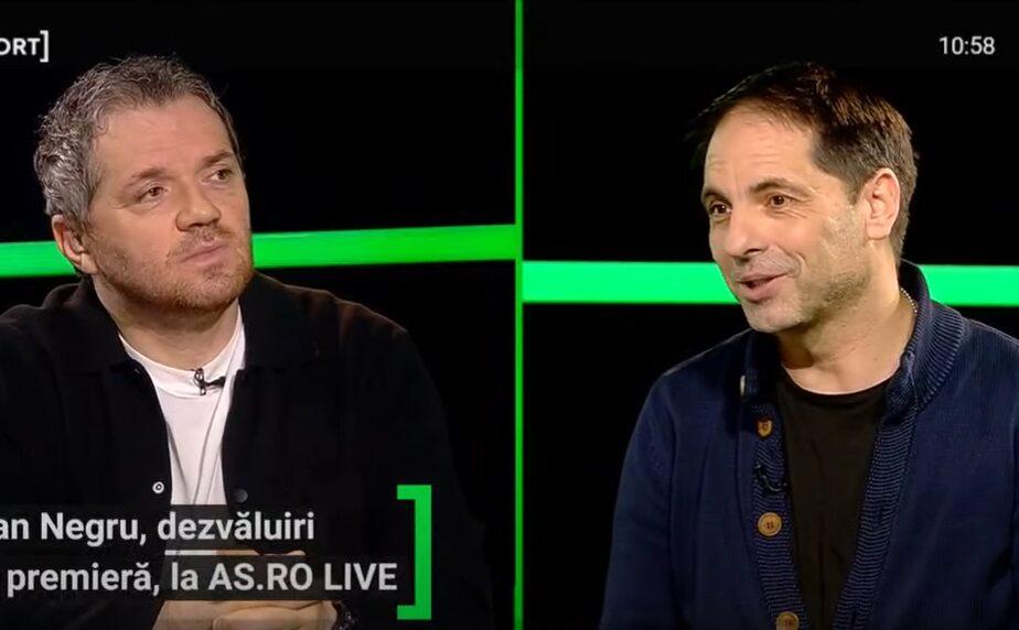 """EXCLUSIV AS.ro LIVE   Dan Negru, poveste fabuloasă cu Lionel Messi: """"Trage tare, o bubuie şi unde crezi că ajunge mingea?!"""""""