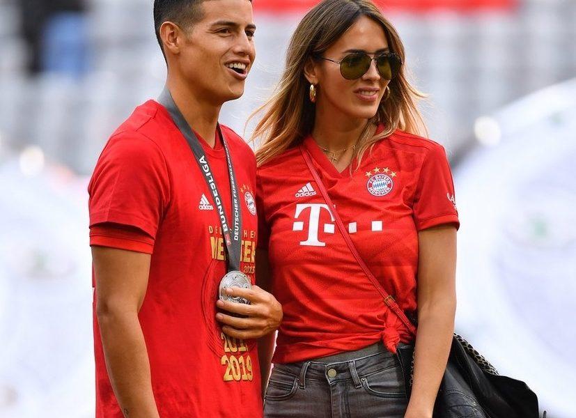 De-asta stă James Rodriguez acasă! Shannon de Lima, iubita starului lui Everton, a încins Internetul de ziua ei