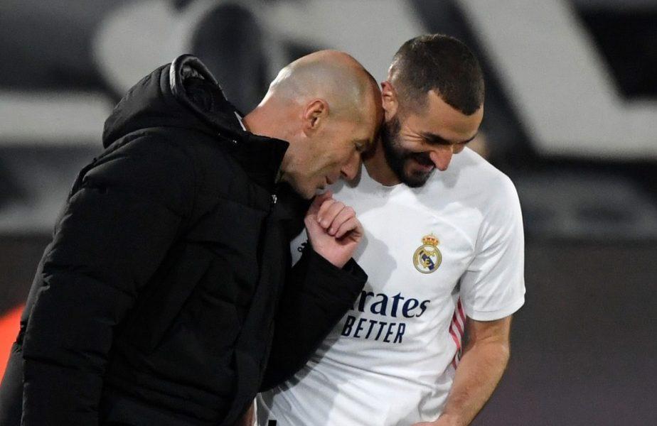 """Zinedine Zidane este negativ pentru COVID-19! """"Zizou"""" a evitat boala și poate sta pe bancă în Real Madrid – Osasuna"""